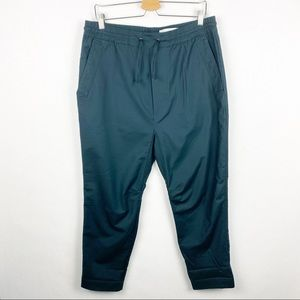 Chapter Baron Cropped Drawstring Tapered Pants